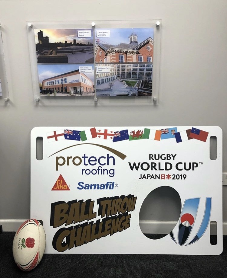 protech roofing rugby board